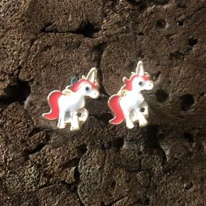Tiny Unicorn Earrings - 3 for $15